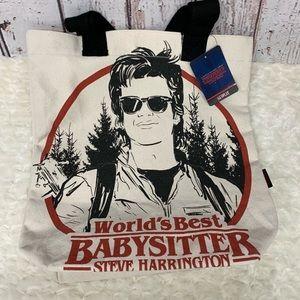 Stranger Things Steve Harrington Tote NWT